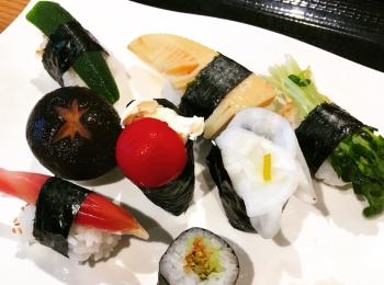 お魚が苦手でも大丈夫!フォトジェニックな野菜のお寿司を食べてきました♡