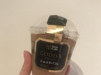 【LAWSON】Uchi Café×GODIVAのショコラパフェを食べてみました♡♡♡♡