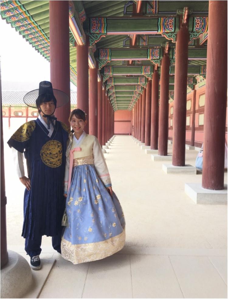 韓国に行ったら絶対おすすめ♡チマチョゴリでの景福宮ツアー♡_2