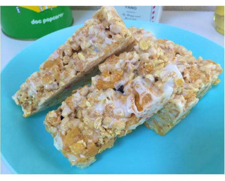 【FOOD】\愛ちあんCafe ♥︎/簡単!忙しい朝、サクッと栄養欲しいから。食物繊維たっぷりグラノーラバーの作り方_15