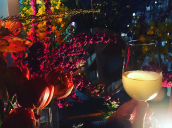 【渋谷PARCO】お花屋さん×ワインスタンド♡THE LITTLE BAR OF FLOWERSで癒しのひととき♪