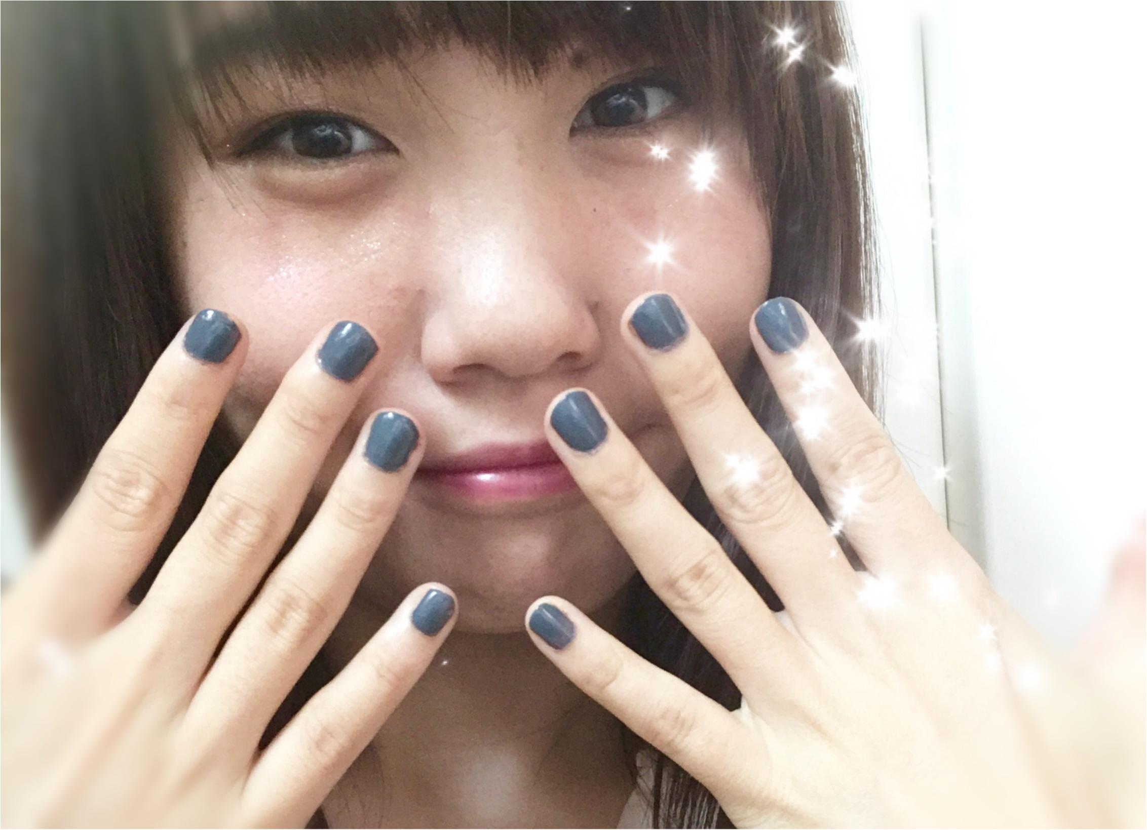 【秋ネイル】YSLのグレーでこっくりセルフネイルが可愛い♡♡♡_1
