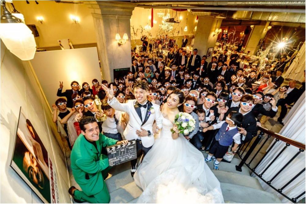 研究室にサッカー場!? 「世界にひとつだけ♡」のオリジナル結婚式が素敵すぎ!_27