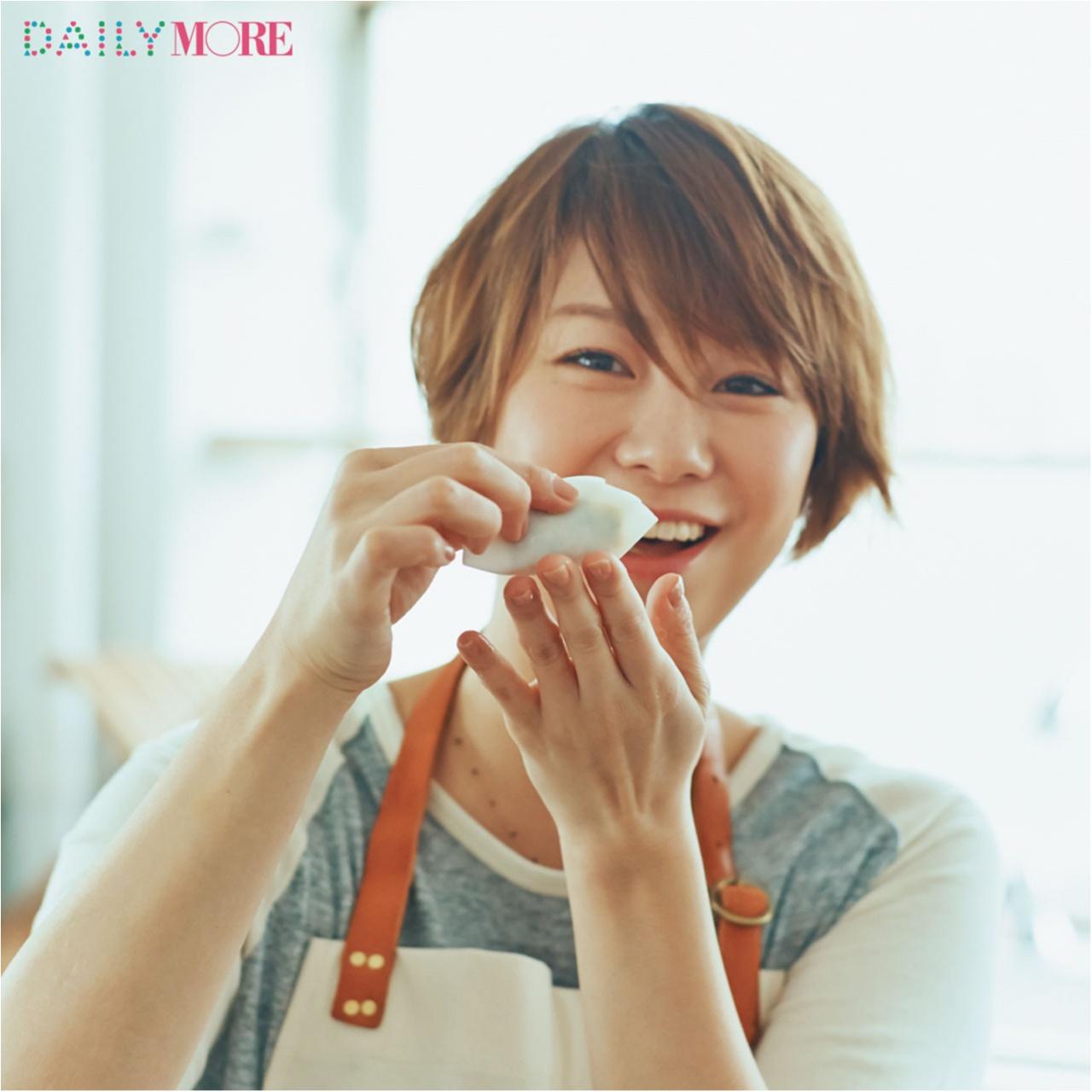 彼も大絶賛! 田中美保さんの、ごはんがすすむ「米粉皮のギョーザ」レシピを伝授!_1