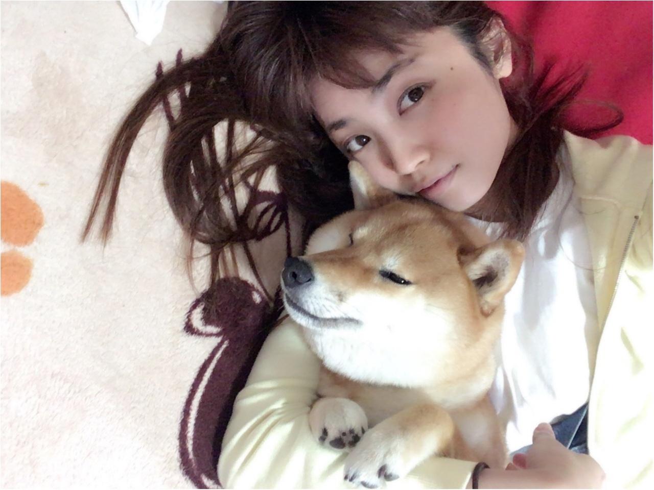 ★柴犬ナッツとお散歩コーデ★_9
