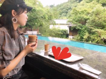 【伊豆】日本美*和モダンな足湯カフェ☕︎和リゾート施設内❁東府や Bakery&Table