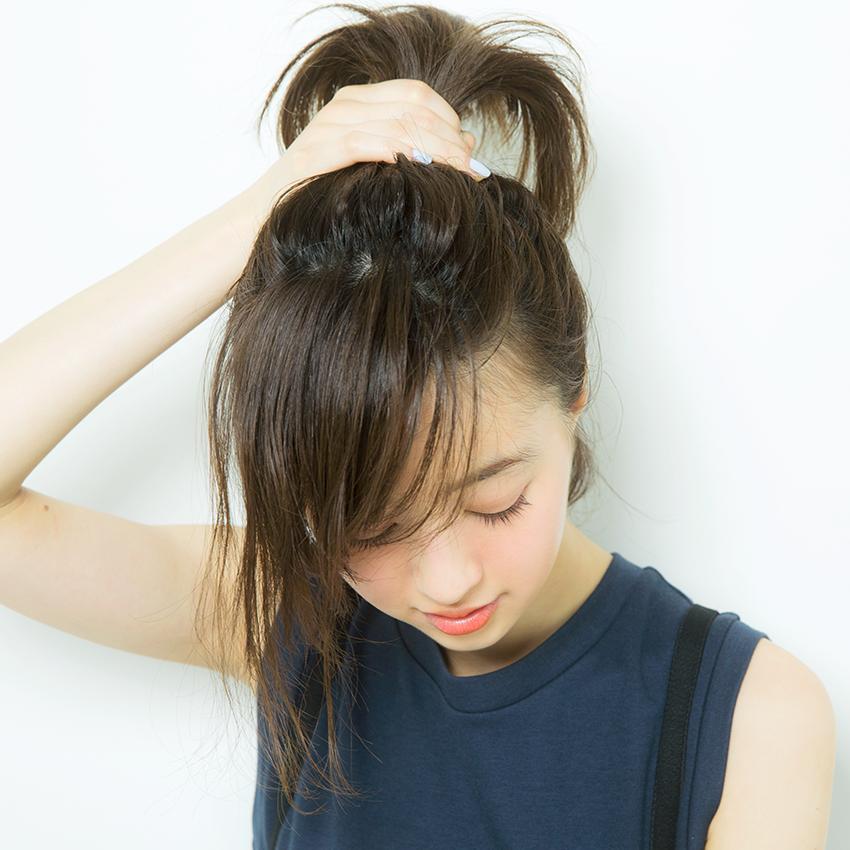 次くるヘアアレンジ5つのHOT TIPS♡『NOT定番! 技ありポニーが◎』_4