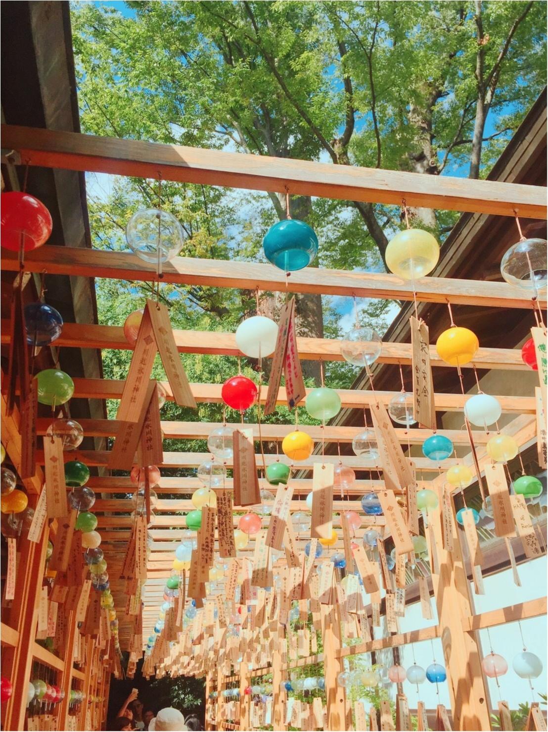 ♡夏にやり残したことはないですか??まだ間に合う!夏らしさを感じるなら川越の◯◯神社へ♡_4