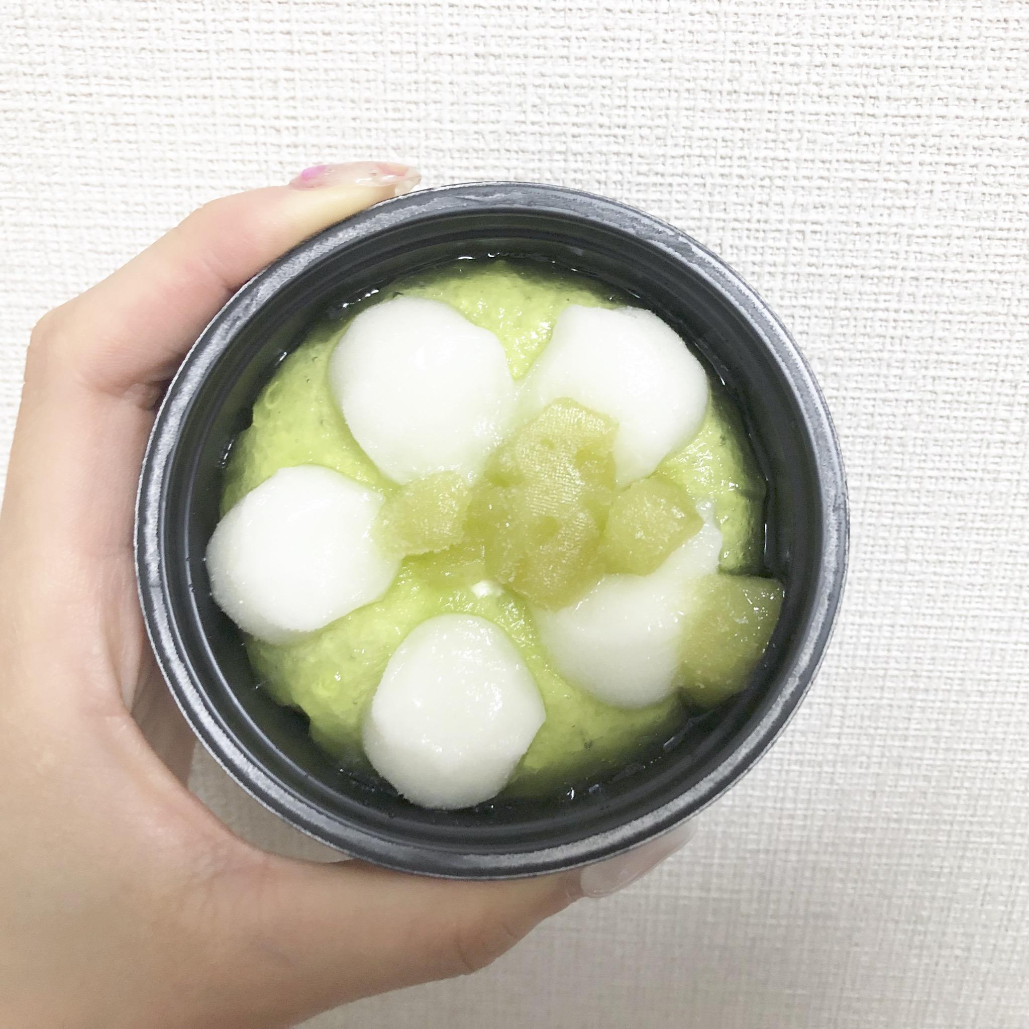 【コンビニアイス】「やわもちアイス Fruits メロン&バニラ」が幸せすぎ♩_2