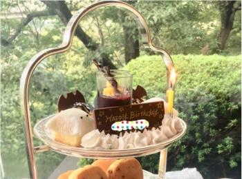 【ハロウィン】おばけちゃんに出会う♡大人のハロウィンは《ホテル椿山荘東京 ル・ジャルダン》のアフタヌーンティーで♪