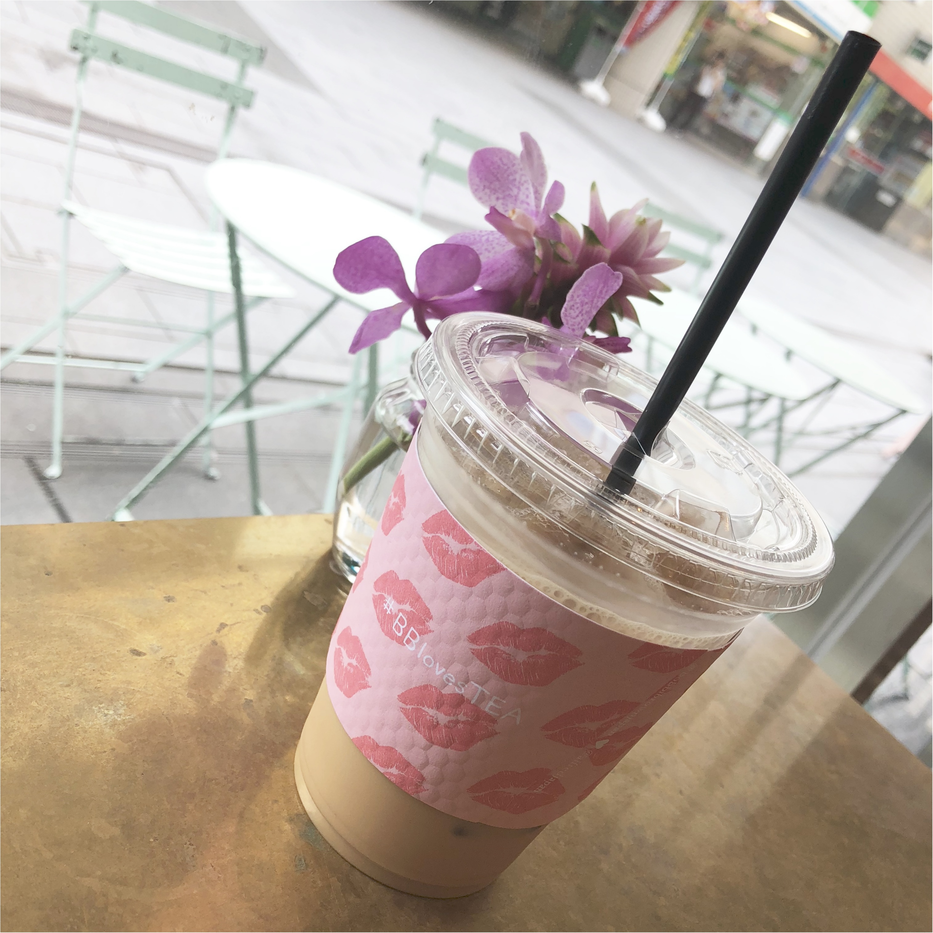 【青山】紅茶で一休み♩ALFRED TEA ROOMがBOBBI BROWNとコラボ中♡_2