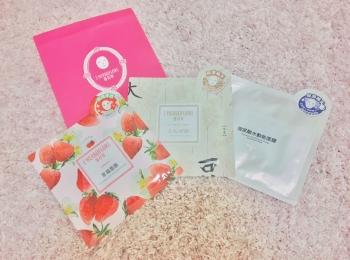 【今週のパック《台湾女子旅》編】購入したシートマスク