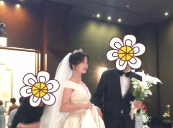 【結婚式in韓国♡】日本とはちょっと違う韓国ウェディング(한국웨딩)をご紹介します!