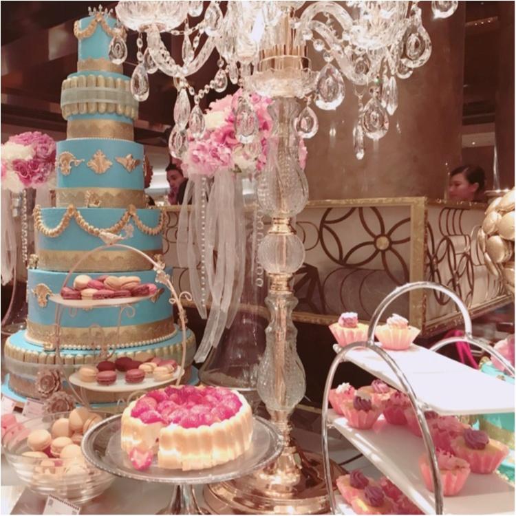 【FOOD】話題のブッフェ♥ヒルトン東京マーブルラウンジ #マリーアントワネットの結婚 ってこんな感じ♡_7