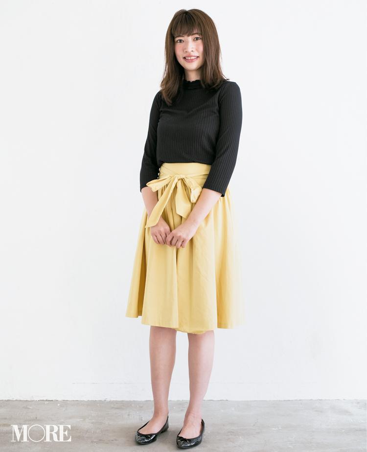 【読者変身】無難、甘すぎ、いつも同じ……きれい色スカートのお悩み、スタイリスト高野さんが解決します☆_2_1
