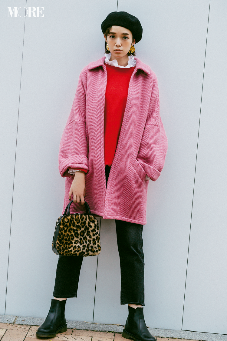 【今日のコーデ】女子会でホメられること請け合い☆ ピンクと赤をワントーン感覚で着る新しさ_1