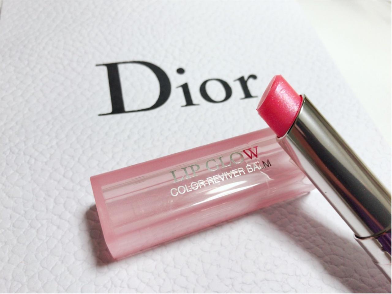 【Dior】皆んな持ってる!上半期 人気だったリップグロウ♡_1