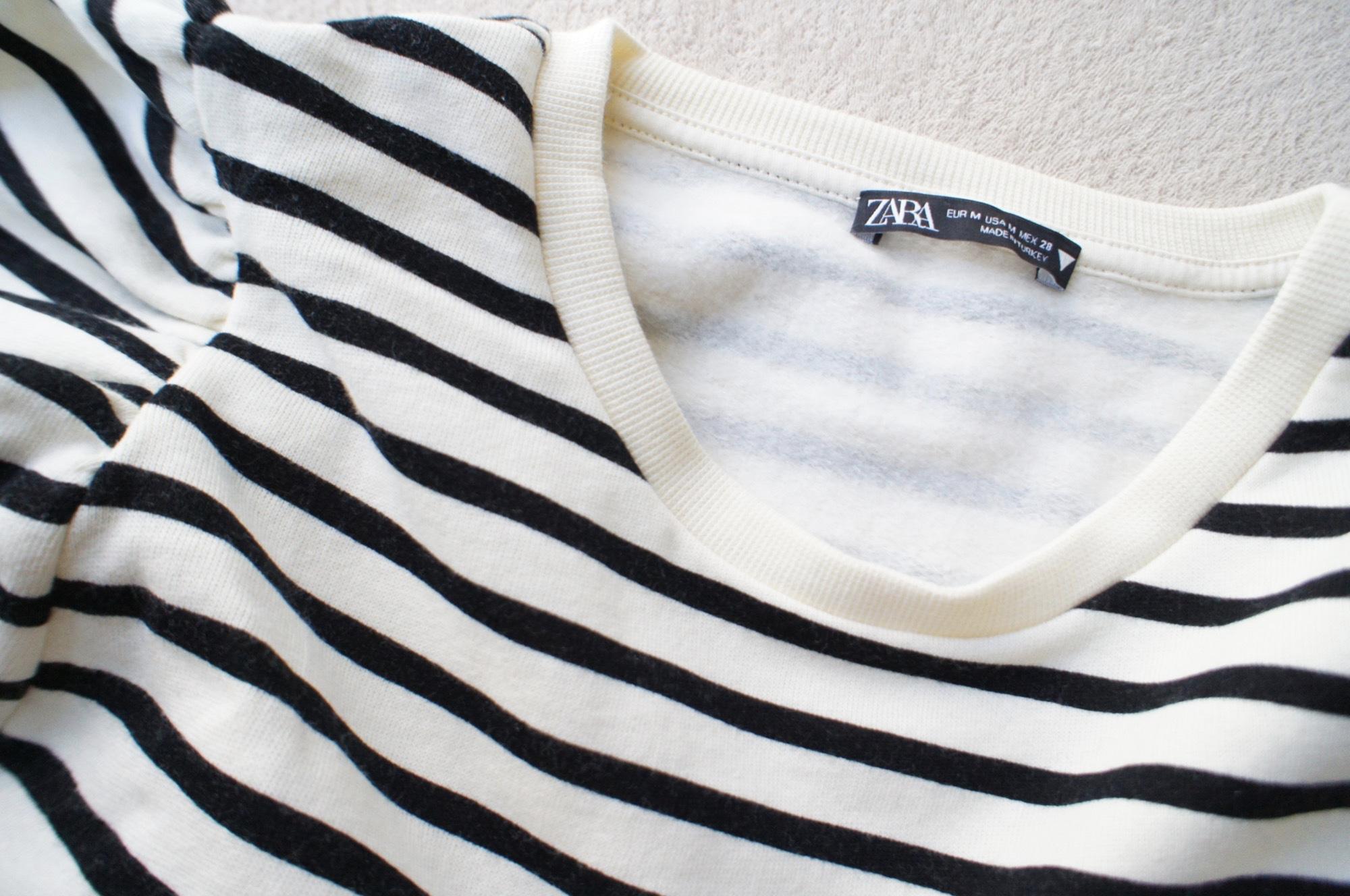 《#ザラジョ 必見❤️》今すぐ使える!【ZARA】バルーンスリーブスウェットシャツが可愛すぎる☻_3