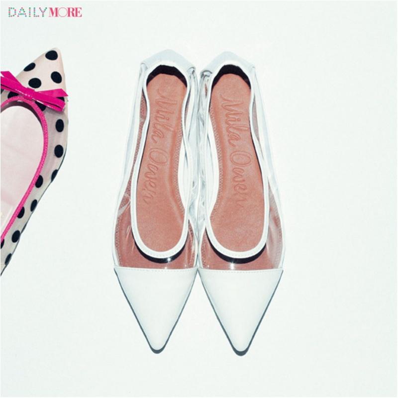 え、まだ新しい靴買ってないの⁉ 足もとにも「女っぽい」マインド、【透ける靴】がはやります!_1_4
