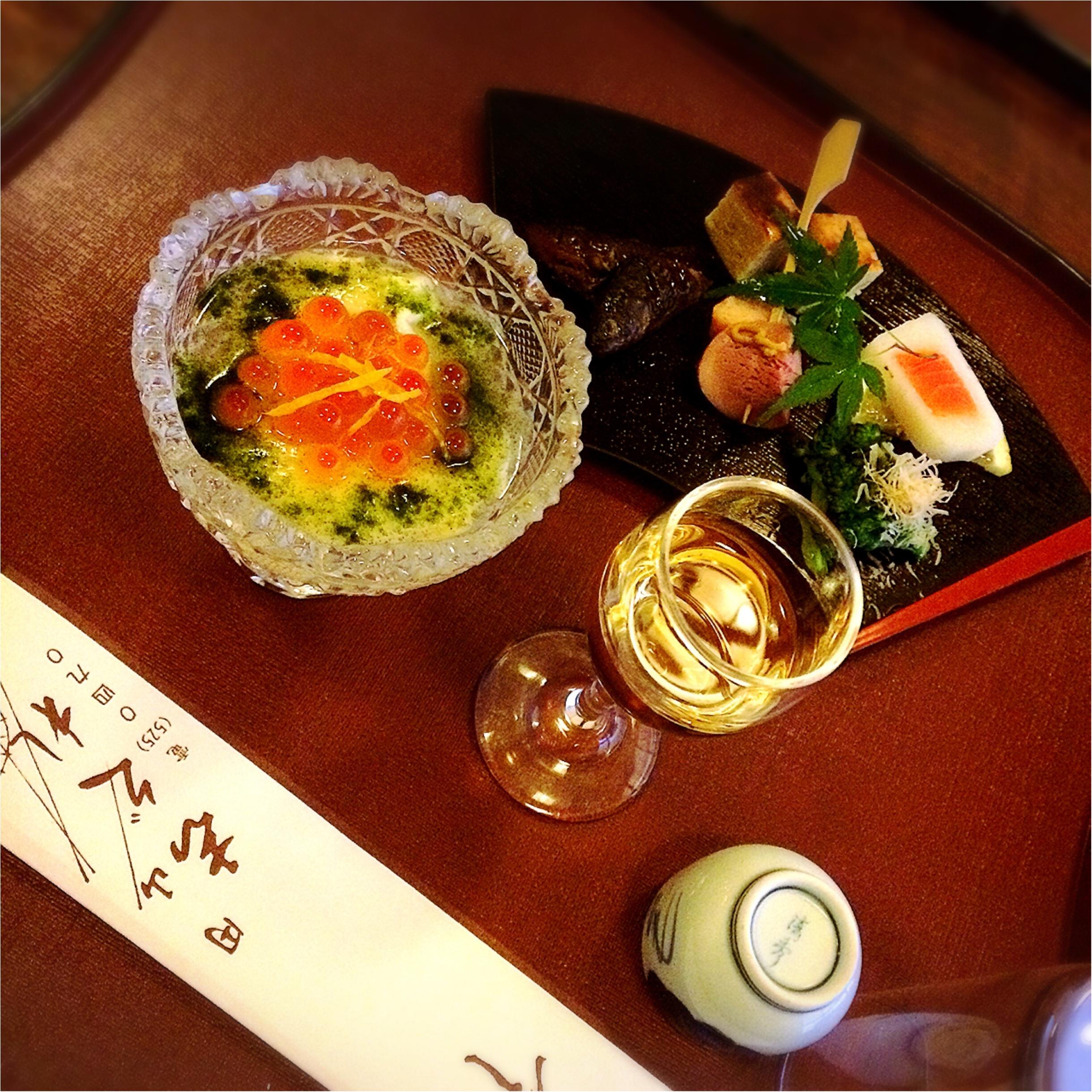 ★祇園祭のこの季節♡ロケーションから味まですべてが花丸級⁉︎京都へ行ったら外せない老舗京料理店★_5