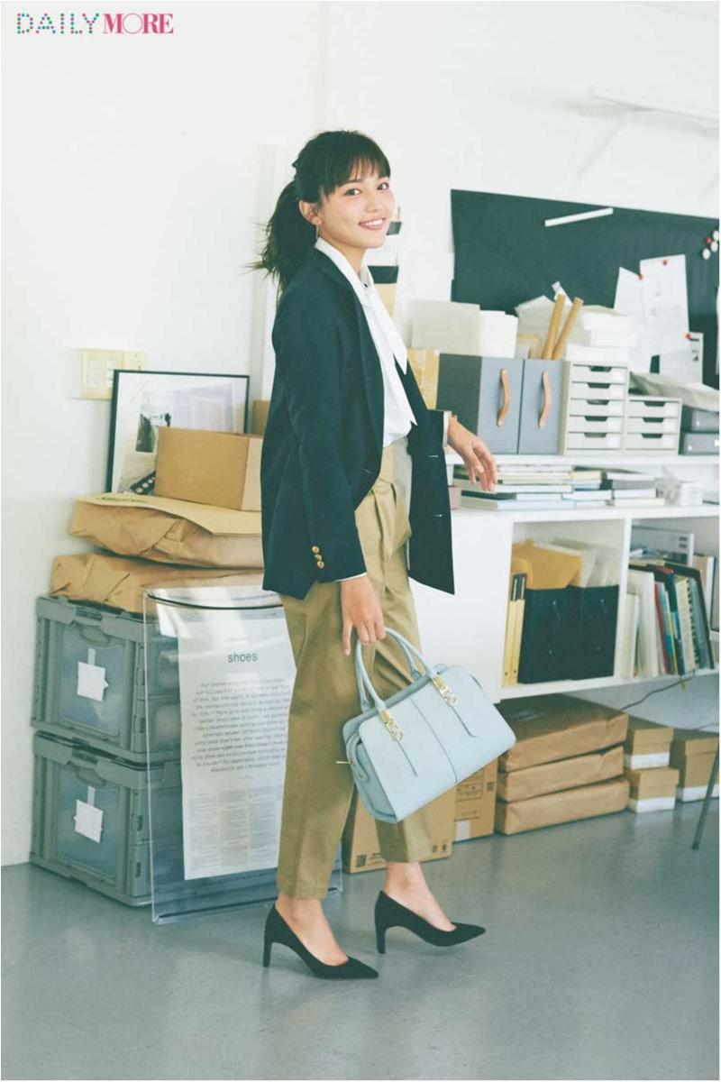 【4月に新社会人になるなら必見!】川口春奈さんが新人OLを演じたら……全部が理想的だった!_1_1
