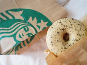 《待望の復活❤️》【スタバ】アールグレイミルククリームドーナツが美味しすぎる!☻