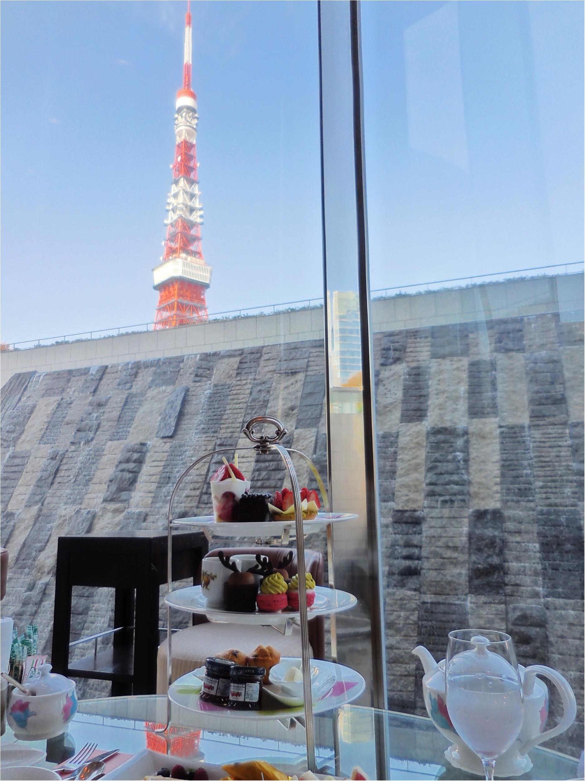東京タワーを近くに眺めながらゆっくりできるアフタヌーンティー【ザ・プリンス パークタワー東京】_1