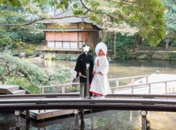 【本格和婚①】【神前式】徳川家ゆかりの神社で式を挙げました*。