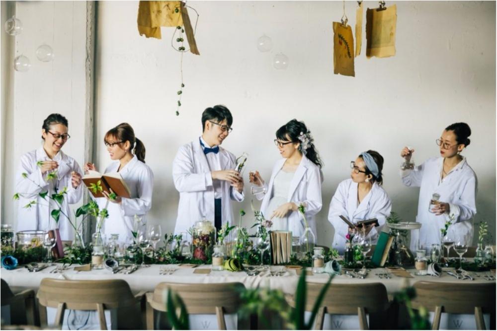 研究室にサッカー場!? 「世界にひとつだけ♡」のオリジナル結婚式が素敵すぎ!_11