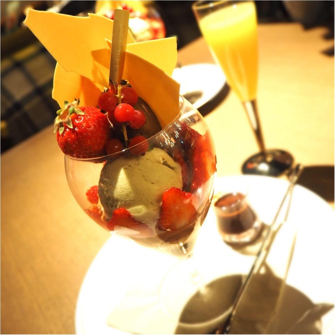 【明日開業☆】東京ミッドタウン日比谷で贅沢スイーツ@カフェ デリーモ_2