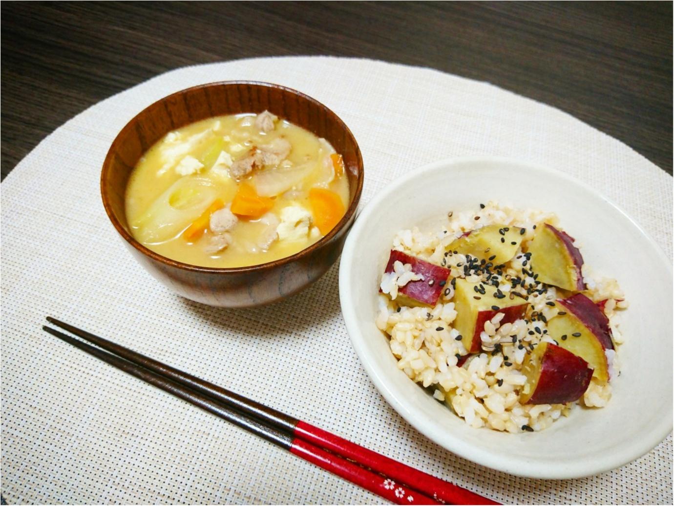 """【クッキング】""""旬"""" だからこそ、美味しさ倍増 ♪ 10月13日は『さつまいもの日』簡単!さつまいもご飯のレシピをご紹介します ★_4"""