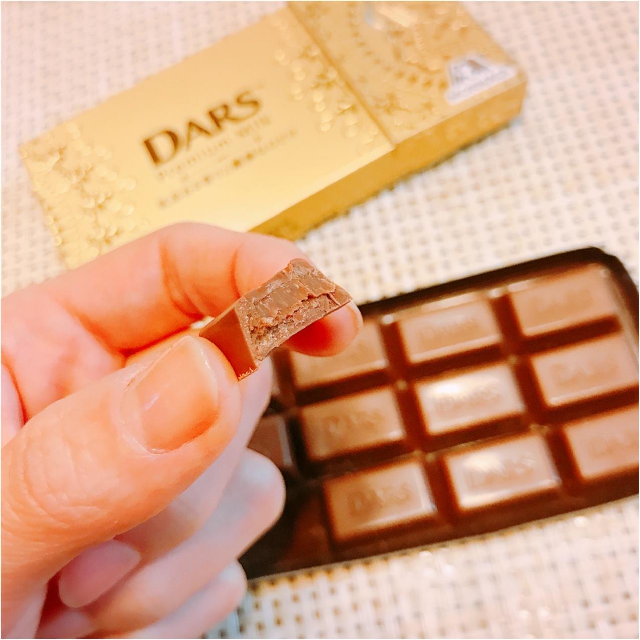 コンビニで買える贅沢チョコ!《ダース プレミアムミルク》もう食べた?♡_3