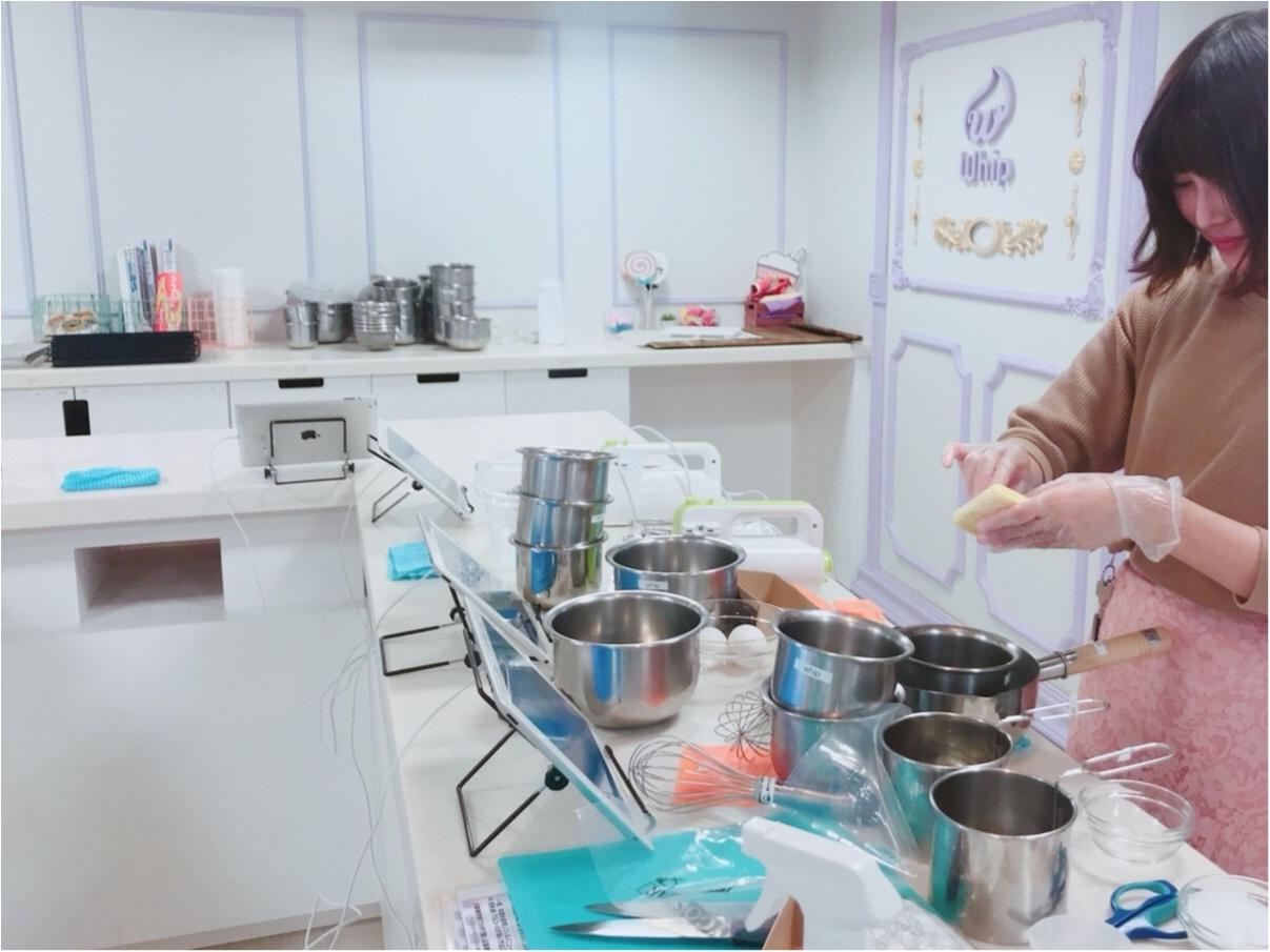ABCクッキングのキッチンが借りられる【Whip(ホイップ)】でチョコケーキ作り♪_5