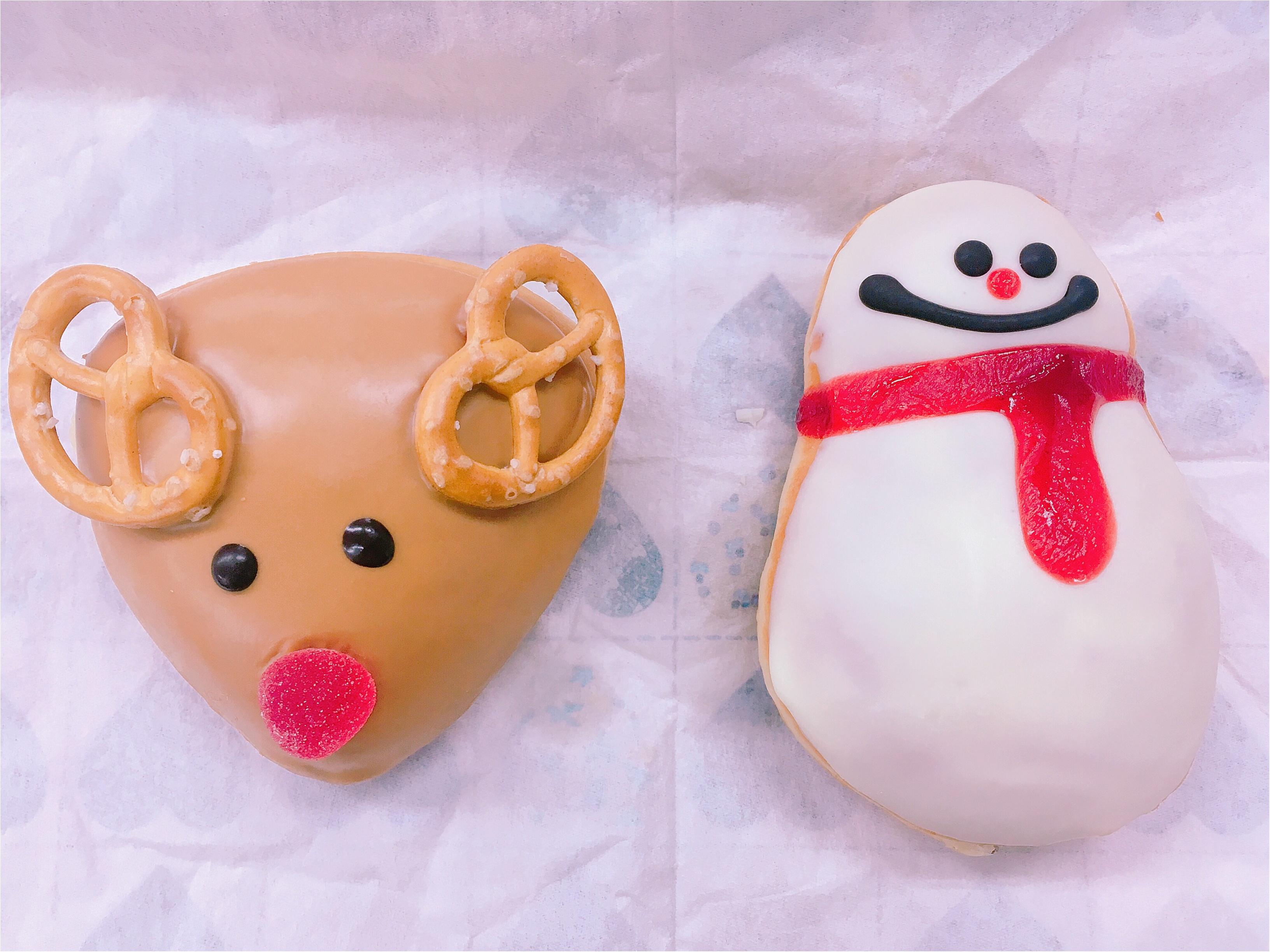 クリスマス限定!かわいすぎるトナカイ&スノーマンドーナッツ_3