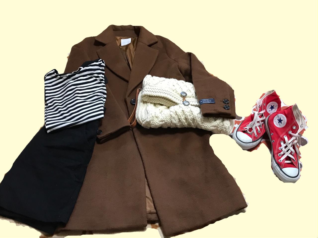 《1つは持っていたい!定番チェスターコート✨》メリノウール使用で暖かい‼スタイリッシュに着れるチェスターコートを最終SALEで半額でGET♪_4