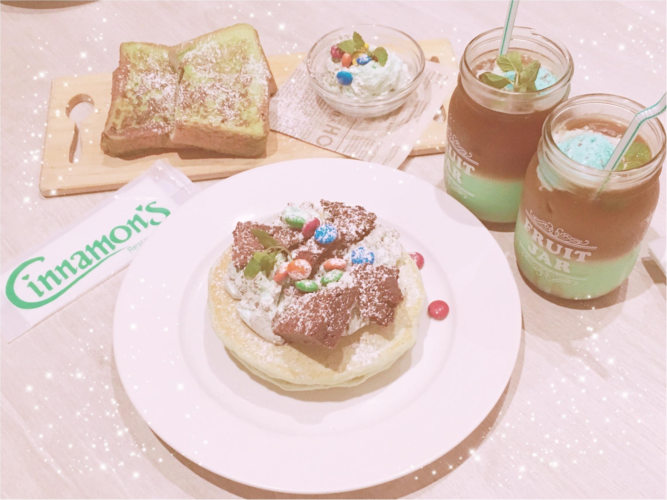 #チョコミン党 活動日誌♡横浜Cinnamon's(シナモンズ)でチョコミント祭り開催中‼︎-本日のモアハピ女子会-_4