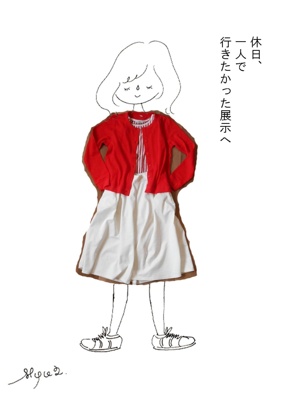 ♡赤が好き③最終回♡~UNIQLO・ZARAの赤アイテムで作るコーデ~_2