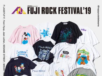 今年も『ビームス』からフジロックオフィシャルTシャツが登場!現在予約受付中☆