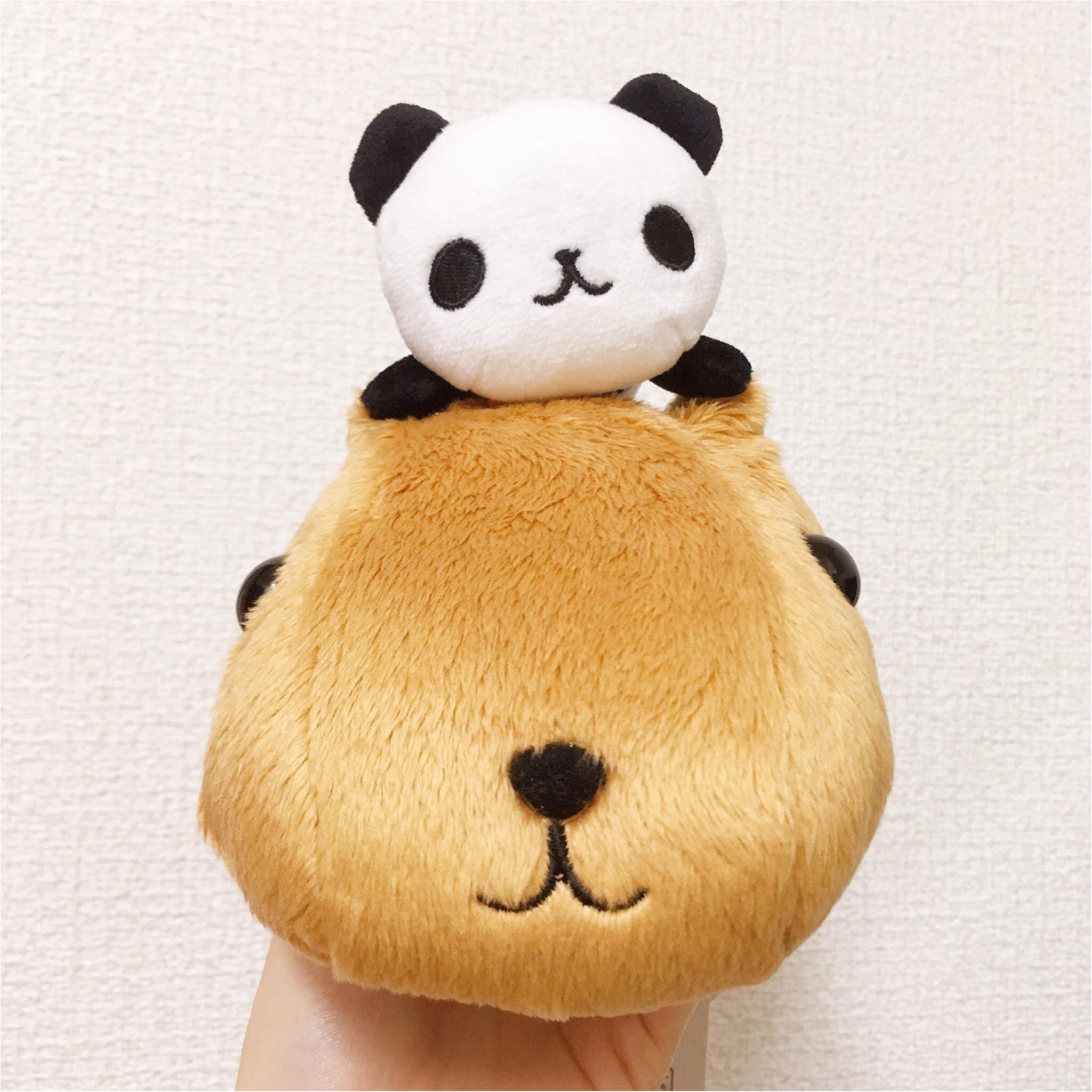 【カピバラさん】と【パンダ】がコラボ♪限定グッズを見逃すな♡_1