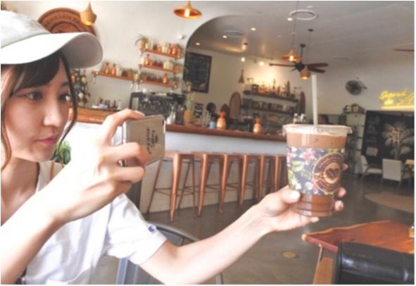 【Hawaii】おすすめ隠れ家カフェをご紹介します!!美味しいワッフルと内装が可愛いすぎる♡♡インスタ映えするフォトスペースも!?_8
