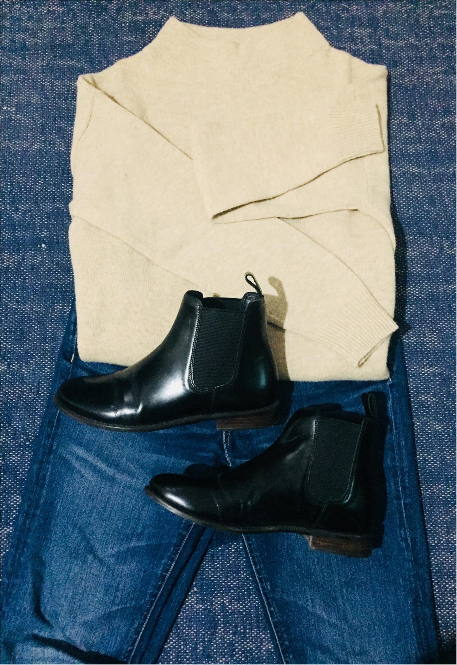 【UNIQLO de お買い物❤︎】寒い冬の気分を上げる!形がキレイ&明るい色のニットを買い足しました✌︎_5