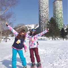 《街歩き服で氷のリゾートへ突撃!!》「星野リゾート リゾナーレトマム」が提案する「雪ガールステイ」で快適・便利・楽しい!女子旅をしよう♡
