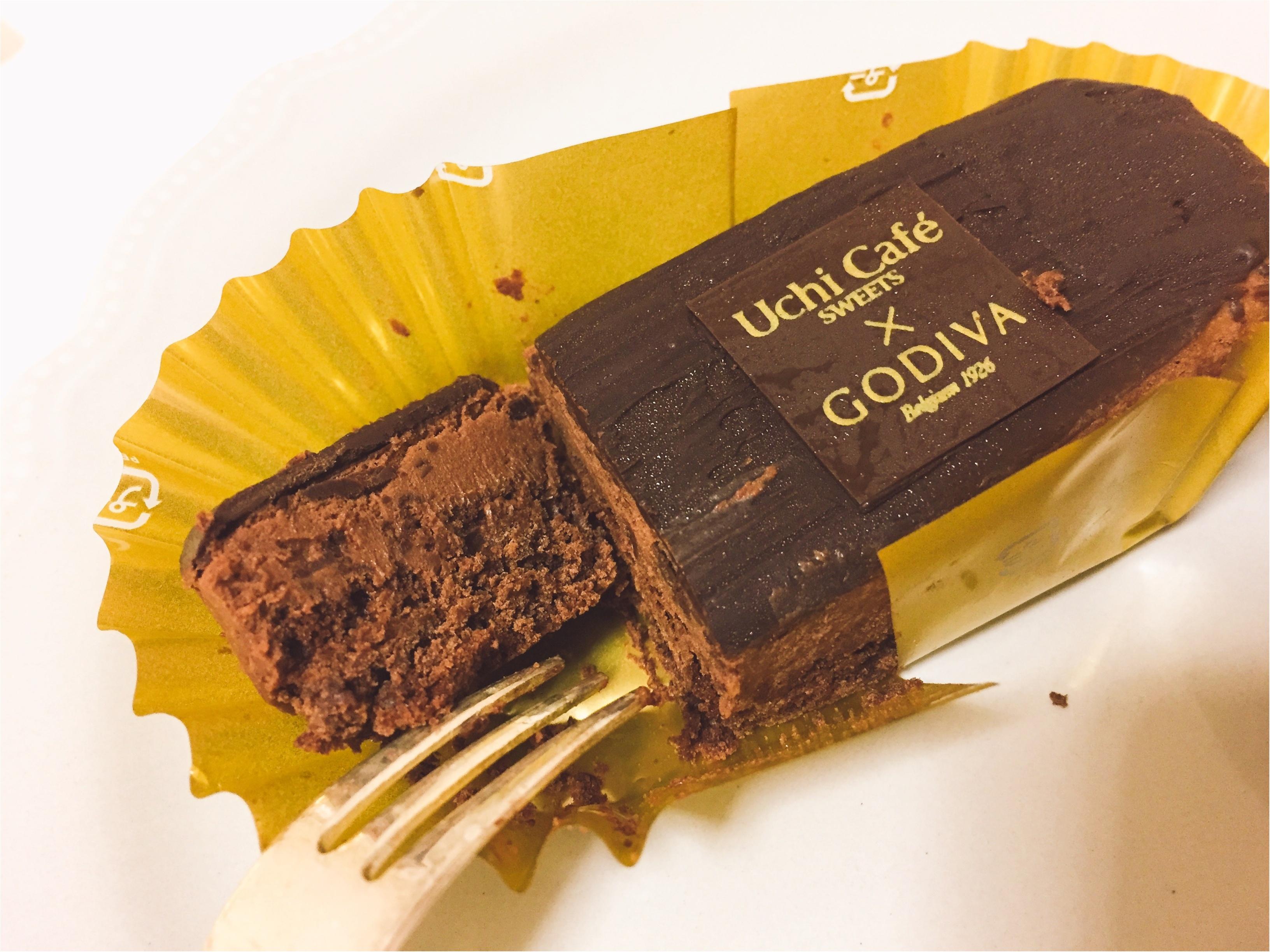大人気!ローソン×GODIVAコラボ第3弾は、濃厚リッチな『ショコラタルト』と『ガトーショコラ』!!_4