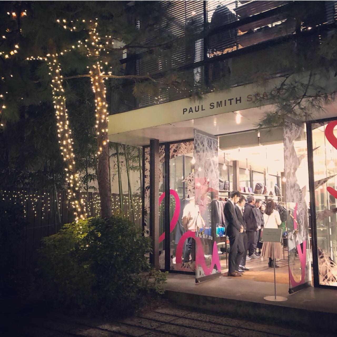 <Paul Smith × MEN'S NON-NO × MORE>クリスマストーク&ショッピングイベントへ行ってきました!♡_1