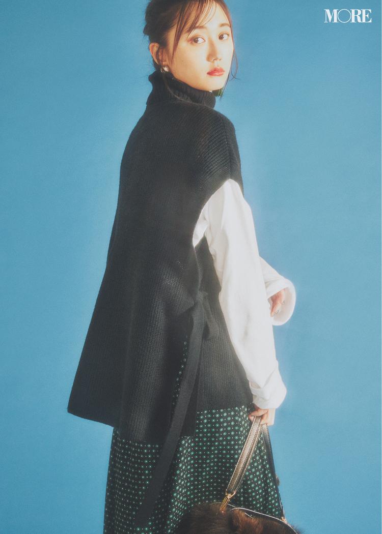 【2019年版】冬ファッションのトレンド特集 - 20代女性の冬コーデにおすすめのニットベストなど最旬アイテム・カラー・柄まとめ_7