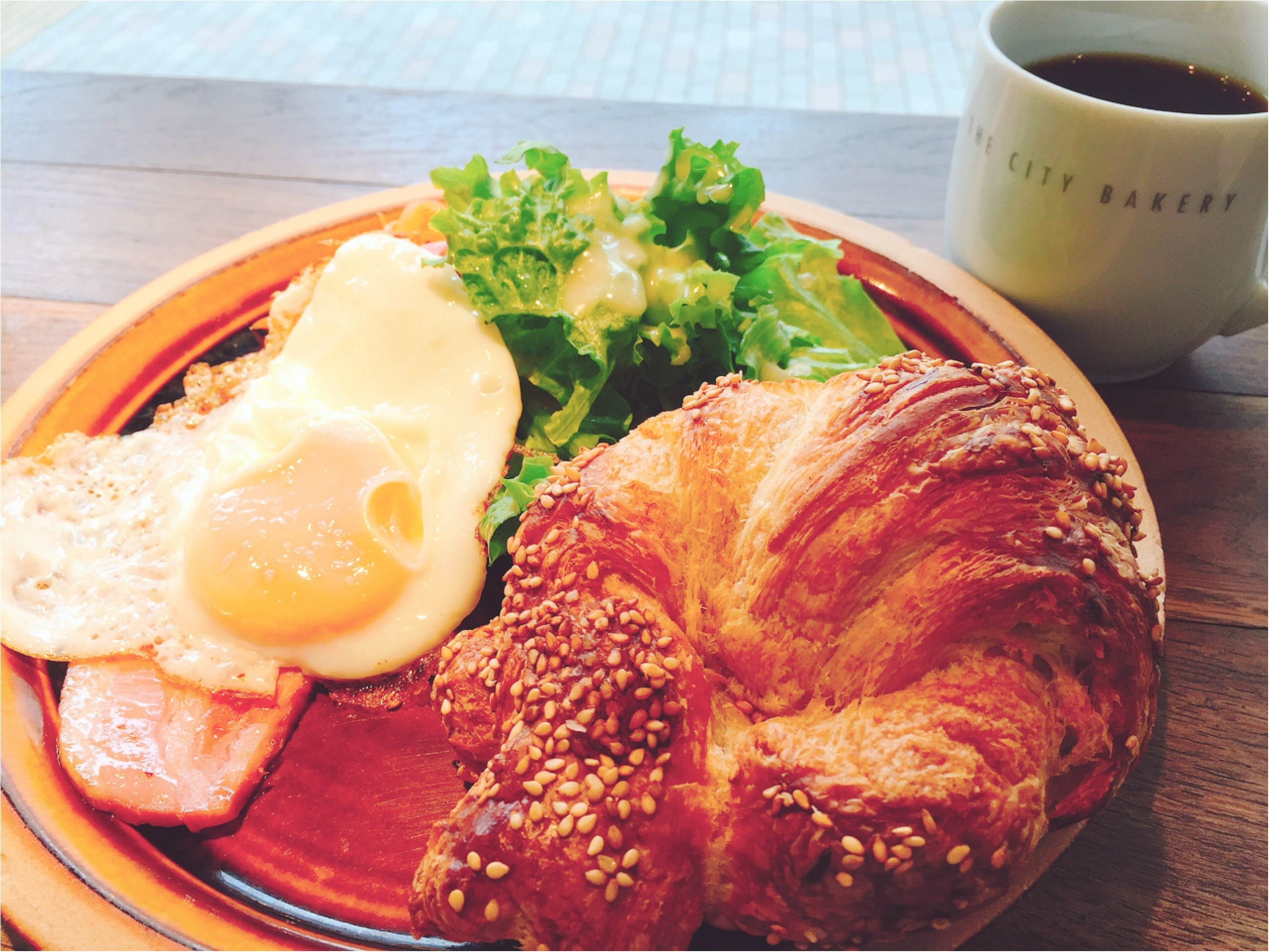 朝活。〜【THE CITY BAKERY】の『プレッツェルクロワッサン』から素敵な1日の始まりを♡*〜_2