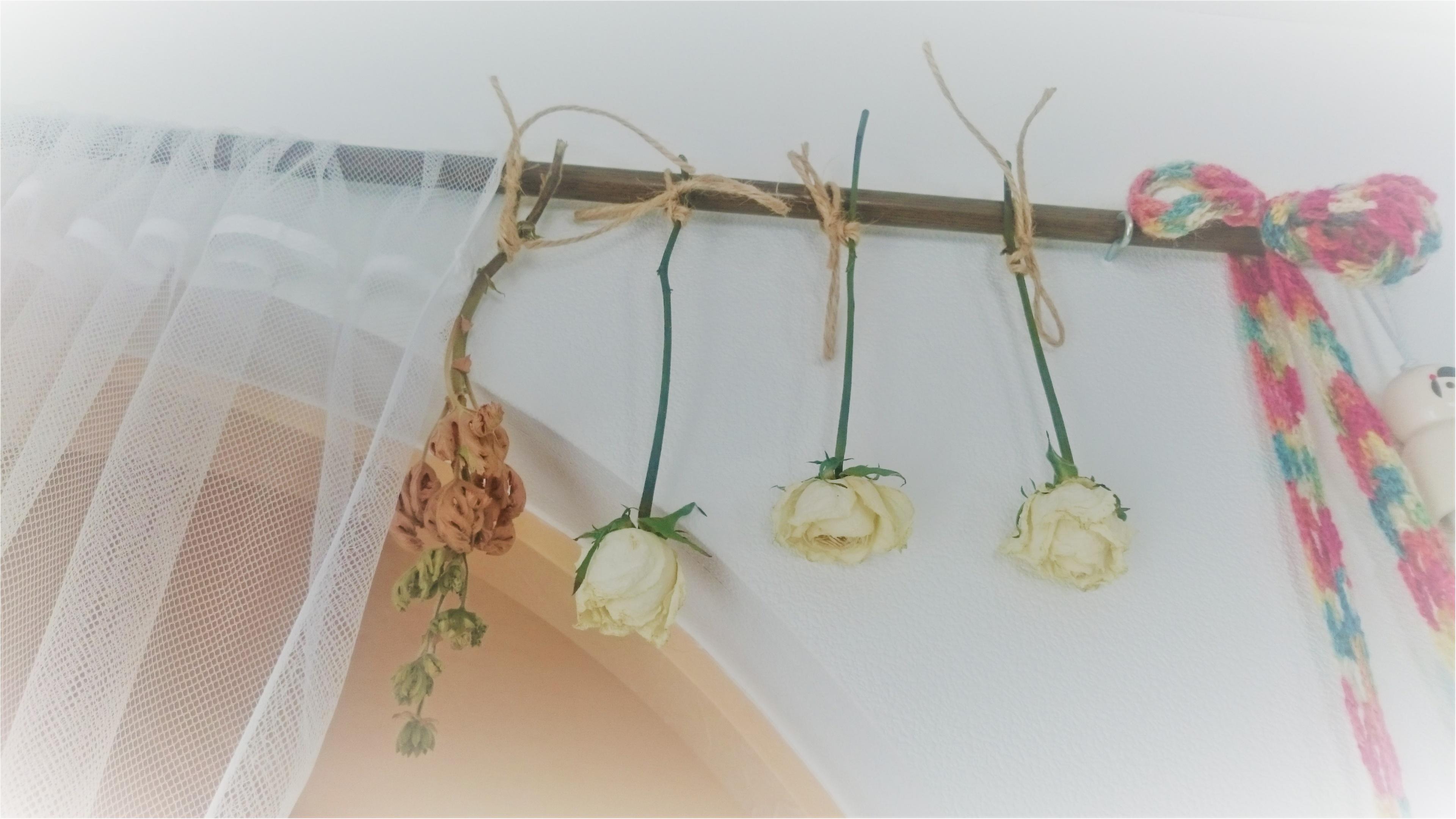 【ドライフラワーの作り方】記念のブーケは吊るして残す♡_4
