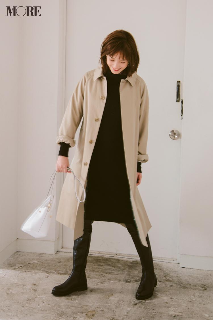 ベージュコーデ特集(20代後半女子向け)- 春におすすめのワンピースやスカート、靴などのコーディネートまとめ_27
