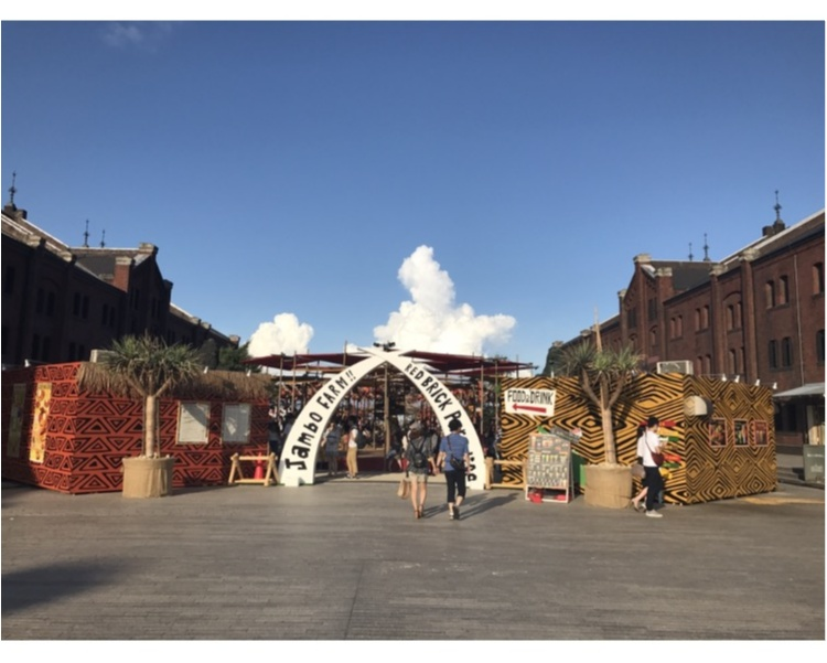 【EVENT】8/27まで開催中!みなとみらい・赤レンガがアフリカンリゾート空間に♥_2