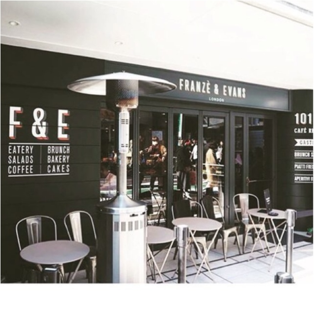 【Franze&Evans LONDON】ロンドン気分を味わえるお洒落カフェ★_1